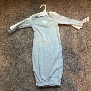 NEW carters baby gowns (3 months)